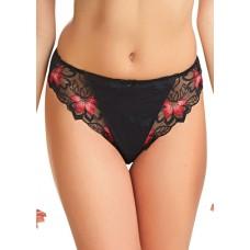 Fantasie Leona string zwart rood S, XL