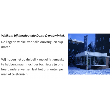 Welkom op de vernieuwde Dolce D webwinkel