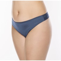 Ulla Lucy string  36-50 wit en denim