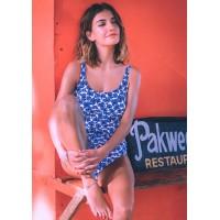 Anita Marle badpak wit met blauw 38H, 42H, 46D, 48E
