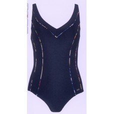 Naturana bathing suit arceer black sizes 44E, 46E, 48E, 50E, 52E