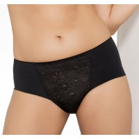 Ulla Dessous Alice panty in black, skin and red, sizes 36-50 (European sizes)
