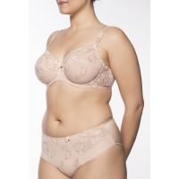 Ulla Dessous Carla brief   sizes 38-60  in the color skin
