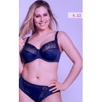 Ulla Dessous Carmen brief in  color safire (blue) , sizes 38-60 (European sizes)