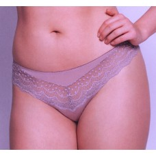 Ulla Dessous Josy thong in  color taupe sizes 36-48 (European sizes)