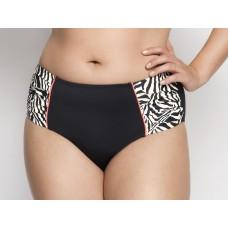 Ulla Dessous Nizza high bikini brief black white sizes 34-54 (European sizes) MONTH OFFER