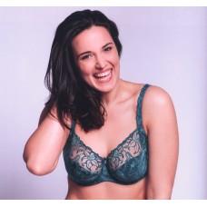 Ulla Dessous Zoe bra new color green 32-44 K and L
