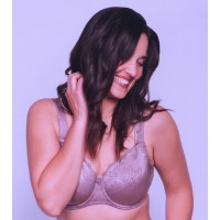 Ulla Dessous Viola bra in mauve  sizes B-G, 32-48