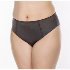 Ulla  Viola high brief,  coffee  european sizes 36-56